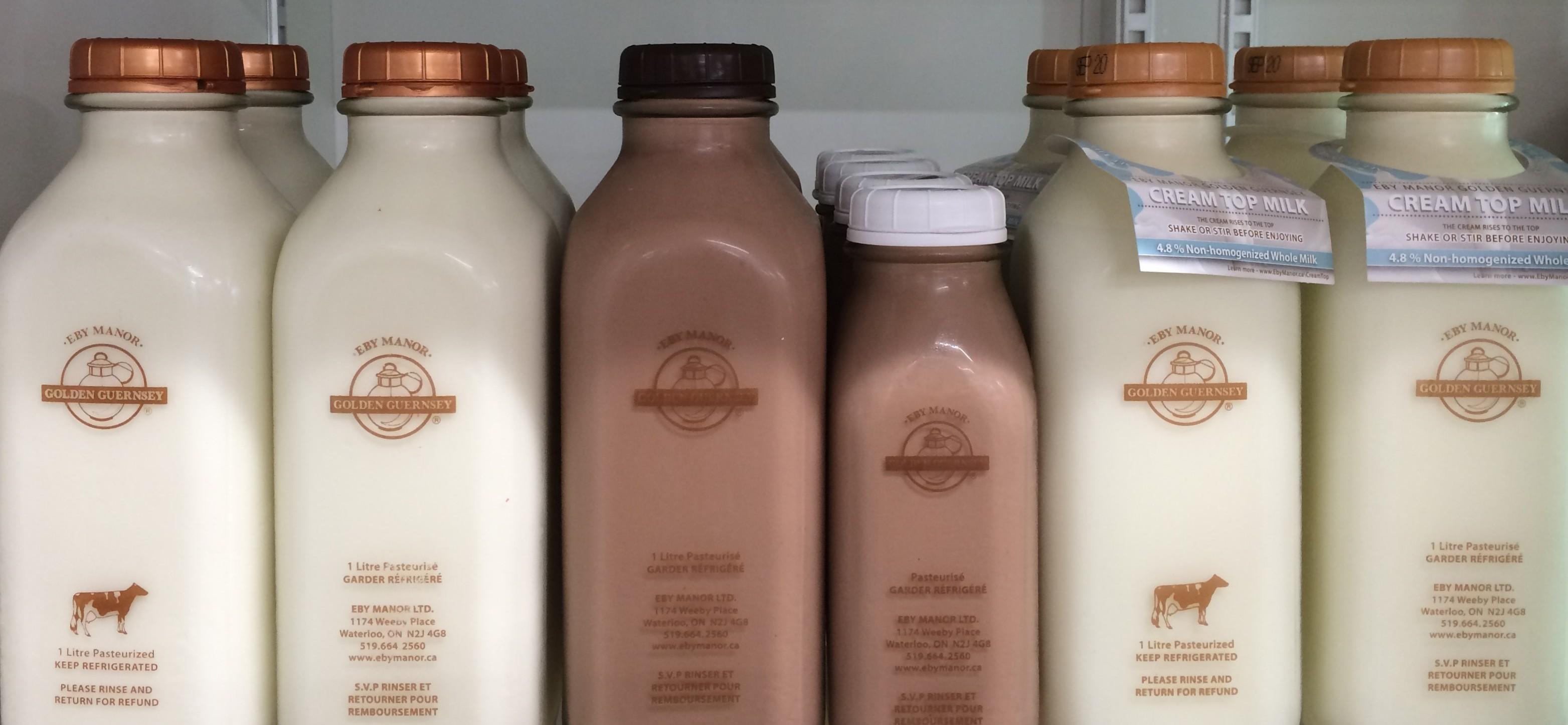 Farm Fresh Guernsey Milk